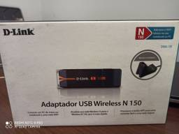 Adaptador USB wireless novo na caixa