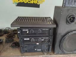 Vendo equipamento  de som PA