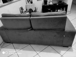 vendo sofá retrátil e reclinável semi novo