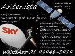 Antenista em Geral - Nova Iguaçu - RJ