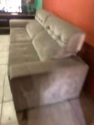 vendo sofá de luxo semi novo