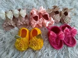Sapatinhos e sandálias para bebês