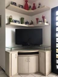 Estante com armário para sala de estar