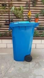 Latão / container lixo condomínio