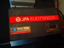 Fonte som automotivo/Carregador de bateria taramps 30 e jfa 70 ah