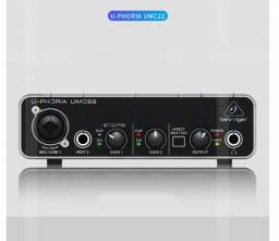 Interface Audio Behringer U-phoria Umc22- Garantia Total
