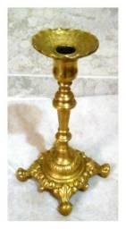 Candelabro antigo em bronze