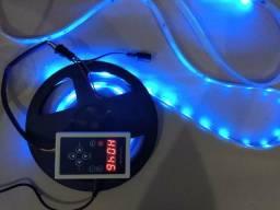 Fita LED Digital com controlador e controle remoto nova