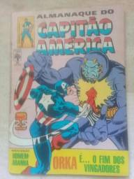 Gibi Almanaque do Capitão América Número 82