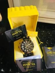 Relógio invicta original com garantia pela fabrica de três anos nunca usado