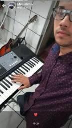 Aulas teclado e violão
