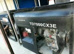 Oportunidade gerador a diesel