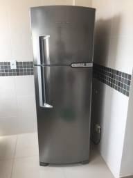 Refrigerador Inox Brastemp Clean Brm39ek Frost Free 352l 220vb