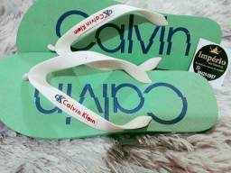 Chinelas da Calvin e reserva do 37 ao 44
