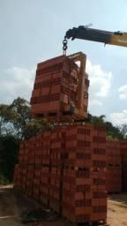 Garfos ou Porta Pallet p/ Caminhão com Munck Guindaste 2.000kg (amarelo)