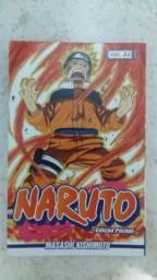 Mangás e livro Naruto