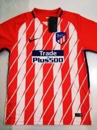 d07675bc74 Camisa Atlético de Madrid Home 17 18 - Tam.  G