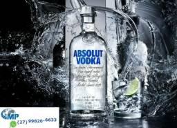 Vodka Absolut Nova! Original! Lacrada! Somos loja e distribuidora de importados. Opção 12x