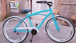 Bicicleta caiçara nova zera troco por PS3
