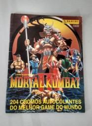 Álbum Mortal Kombat II Panini Anos 90 1996/97