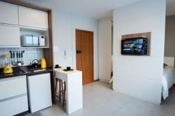 Apartamento Completo no Carianos com água, luz, internet e condomínio já inclusos no valor