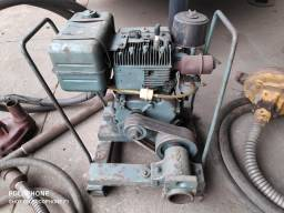 Motor estacionário com bomba sapo e vibrador
