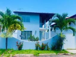 Casa 4/4 em Arembepe Aquaville - Suíte - Varanda - Piscina - Próximo à Praia - 3 Vagas - Á