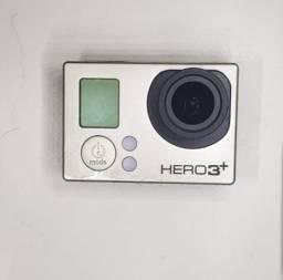 Gopro HERO3+ com acessórios originais Gopro