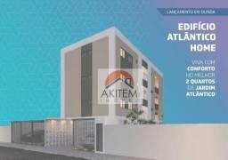 Apartamento com 2 dormitórios à venda, 47 m² por R$ 189.900,00 - Jardim Atlântico - Olinda