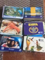 Coleção de cartões Telemar