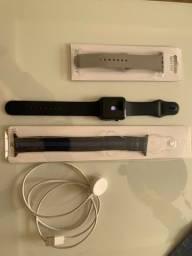 Apple Watch 1. original. com carregador e 3 pulseiras!!