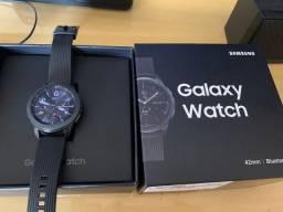 Troco/vendo Relógio Smartwatch Samsung Galaxy Watch Bt 42mm - Preto