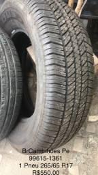 Três pneus perfeito