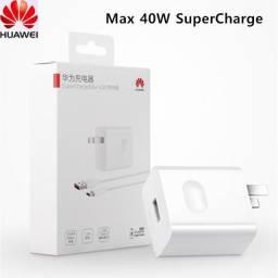Carregador 40w Super Turbo Huawei Lacrado - Aceito Cartão