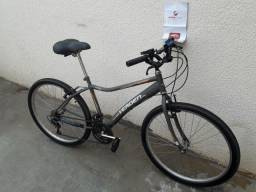 Bicicleta Aro 26 18V Verden Achieve Cinza Unissex