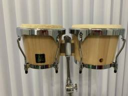 Bongô Lp Aspire + Pedestal + Bag (latin Percussion)