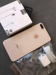 IPhone 8PLus 64GB Gold - lindo - completo - sem detalhes
