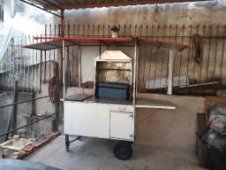 Vendo carrinho para churrasco