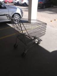 Carro de compras supermercado