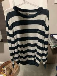Suéter manga comprida da Lacoste