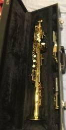 Saxofone Soprano Sib Eagle SP 502