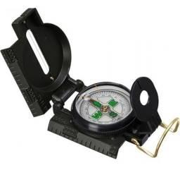 Bússola Profissional Militar Camping Pesca Lensatic Compass