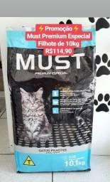 Promoção Ração Must Gato Premium  Especial de 10kg por apenas $114,90