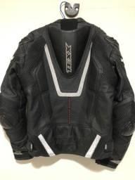 Jaqueta de couro Texx