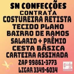 PRECISO DE COSTUREIRA RETISTA