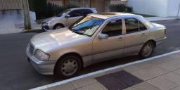 Vendo linda mercedes c180 1998 prata automática