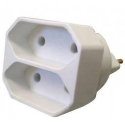 (WhatsApp) plug t 2s - branco - mecatool