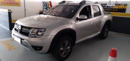 Renault Duster Oroch 1.6 Dynamique, Manual, 2015/2016, Completo, Prata, 41.000km, Extra!