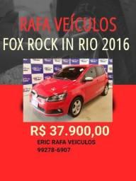 VEM PRA RAFA VEÍCULOS!!! FOX 1.6 ROCK IN RIO 2016 R$ 37.900,00