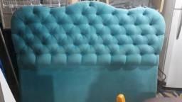 Cabeceira linda Azul Turquesa
